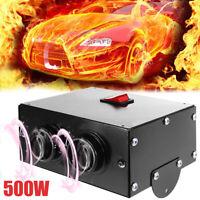500W 12V auto camion ventilatore riscaldatore sbrinatore Demister