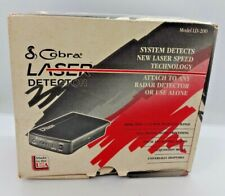 Vintage Cobra Laser Detector LD-200, In Original Box with all Accessories