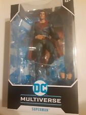 "DC Multiverse Superman Red Son McFarlane Toys 7"" Inch"