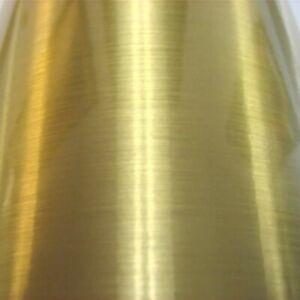 A4 or Meter Brushed Gold Self Adhesive Vinyl Sign Making Vinyl Brush Strokes