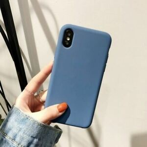 For Apple iPhone XR Xs Max X 8 7 Plus 6 Se 2020 Case Cover Luxury Soft Silicone