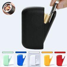 Lighter Pu Leather Cigarette Case Elegant Compact With Cigarette Windproof  Case