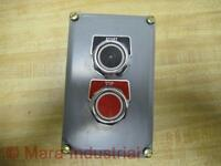 Square D 9001-KY2 Enclosure With Buttons 9001KY2