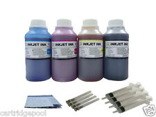 4x8oz Refill ink for HP 21 22 56 57 74 75 60 61 901 564 920 XL Syringes 4x250ml