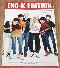 EXO KOLON SPORT 2014 SUMMER MINI PHOTOBOOK PHOTO BOOK NEW