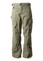 QUIKSILVER Men's SCORPION Snow Pants - KLP Tan Khaki - Size Large - NWT