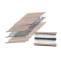 600PCS 30 Values Metal Film Resistors 1/4W 1% Electronic Assorted Resistance Kit