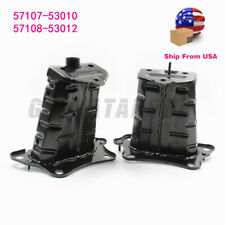 NEW 2X LEFT &RIGHT BUMPER MOUNTING REINFORCEMENT 57107-53010 FOR LEXUS IS250 350