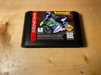 Kawasaki Super Bike Challenge Sega Genesis - Tested Authentic Ships Free