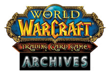 World Of Warcraft WoW TCG Archives Complete Foil Common Extended Art Set B3GO