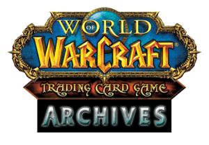 World Of Warcraft WoW TCG Archives Complete Foil Common Extended Art Set