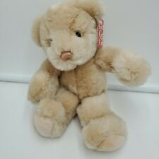 Gund Punky Tan Teddy Bear Plush Soft Toy Stuffed Animal Tags 2067 9""