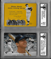 Mickey Mantle Cooper Tires Advertising Baseball Card 1996 Topps Printers Proof