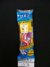 Dressed SpongeBob Pez on Red Stem Mint in Bag!