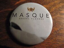 Masque Sexual Flavors Pin - Oral Gel Sex Pleasure Product Logo LGBT Lapel Pin