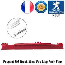 Peugeot 308 Break SW 3ème Feu Stop Frein Feux de Freins LED 9681481880 NEUF