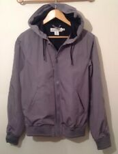 H&M Jacket Small Green Long Sleeve Hooded Used H&M ARMY STYLE JACKET SMALL