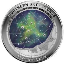 2016 1oz Australia Northern Sky - Cygnus .999 Silver Domed Proof Coin