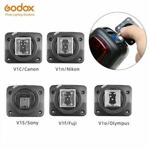 Godox Speedlite V1-C V1-N V1-S V1-F V1-O Flash Hot Shoe For V1 Flash