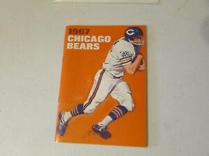 1967 Chicago Bears Football Media Guide