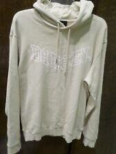 Diesel Mens Hoodie Sweatshirt Ivory / Tan Sz XL SPATRYNEWCONTR NEW $128