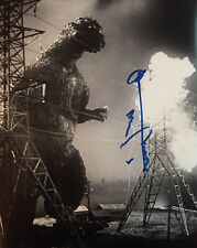 GODZILLA 11 X 14 PHOTO SIGNED AUTOGRAPHED BY THE LATE HARUO NAKAJIMA