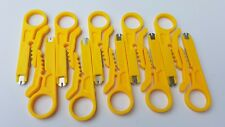 10x punch down tool for Cat5, Cat5e, Cat6 with wire stripper