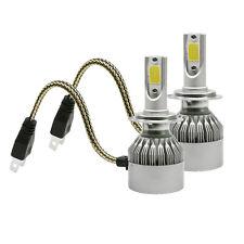 2x 36W LED HAUPTSCHEINWERFER LAMPEN H7 HEADLIGHT BIRNE SEAT IBIAZ 4 5 LEON 1M