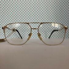 Vintage Brille Brillengestell Colani 15-401 gold rare NOS eyewear occhiali