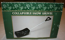 Bradlees 3-Piece Collapsible Snow Shovel