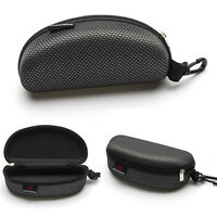 Portable Zipper Eye Glasses Sunglasses Clam Shell Hard Case Protector Box best