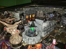 JJP Wizard of Oz Carved Castle Walls and Witch Kit mod @ Pinball Pro WOZ machine