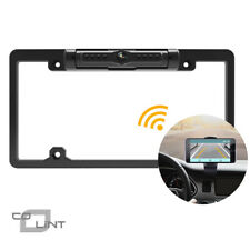 Wireless Vehicle Backup Camera Wifi Phone License Plate Frame Reversing Camera
