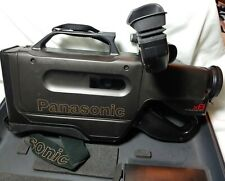 Panasonic Omnimovie Pv-610D Vhs Vidio Camcorder, With Accessories, Used