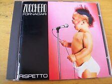 ZUCCHERO RISPETTO  CD MINT- GERMANY AAD