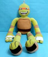 NIckelodeon Teenage Mutant Ninja Turtles MICHELANGELO Plush Toy 28""