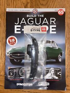 Deagostini Build Your Own 1/8th Jaguar E- type Issue 65