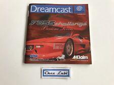 Notice - F355 Challenge - Sega Dreamcast - PAL FAH