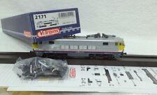 ViTrains gelijkstroom DC 2171 NMBS SNCB serie 1601 superfijn realistische inox