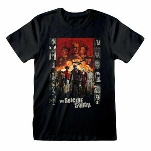 The Suicide Squad Line Up T Shirt OFFICIAL NEW S M L XL XXL