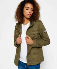 Superdry Military Coats & Jackets Cotton for Women