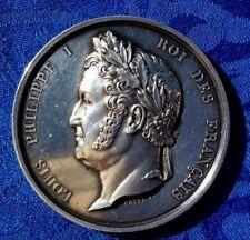 MEDAILLE EN ARGENT LOUIS PHILIPPE Ier ROI DES FRANçAIS CHAMBRE DES DEPUTES.1846