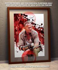 The Walking Dead - Merle Dixon  - A3 poster print