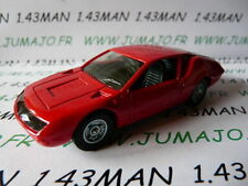Voiture 1/43 solido (Made in France) RENAULT : alpine A310 rouge