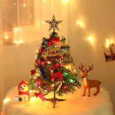 Mini Christmas Tree With Lights 50cm Christmas Desktop tree New Year Decorations