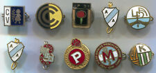 VINTAGE OLD SOCCER FOOTBALL CALCIO ARGENTINA PIN BADGE LOT 10 PIECES!!!