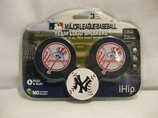 NEW iHip MAJOR LEAGUE BASEBALL SPEAKERS NY Yankees For iPod iPhone