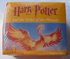 Harry Potter and The Order of Phoenix Audio Book Full 22 Cassette by Stephen Fry