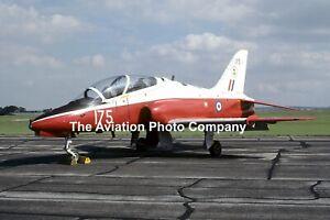 RAF 4 FTS Hawker Siddeley Hawk T.1 XX175 (1986) Photograph