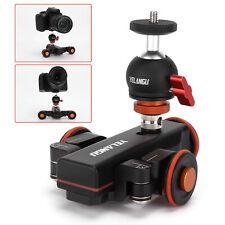 YELANGU Universal Motorized Camera Dolly Video Auto Dolly w/ Remote Control